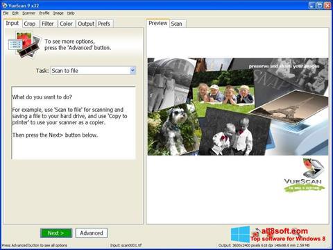 스크린 샷 VueScan Windows 8