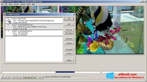 스크린 샷 VirtualDubMod Windows 8