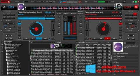 스크린 샷 Virtual DJ Windows 8