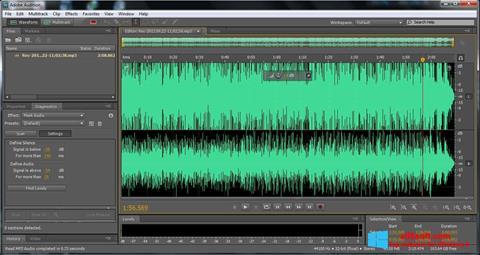 스크린 샷 Adobe Audition Windows 8