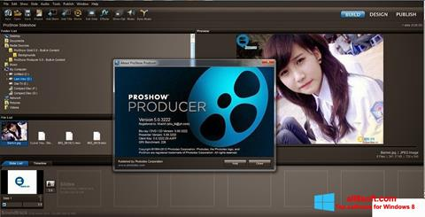 스크린 샷 ProShow Producer Windows 8