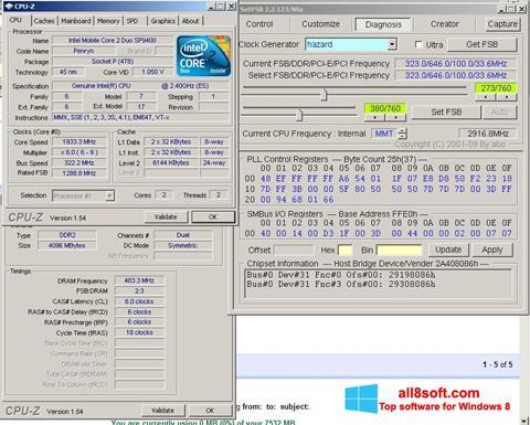 스크린 샷 SetFSB Windows 8