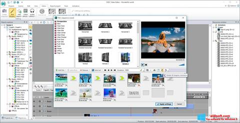 스크린 샷 VSDC Free Video Editor Windows 8