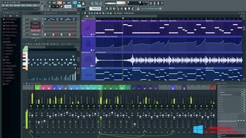 스크린 샷 FL Studio Windows 8