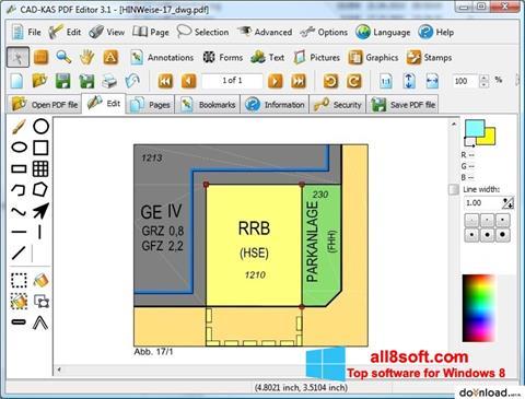 스크린 샷 PDF Reader Windows 8