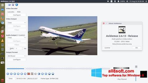 스크린 샷 Avidemux Windows 8